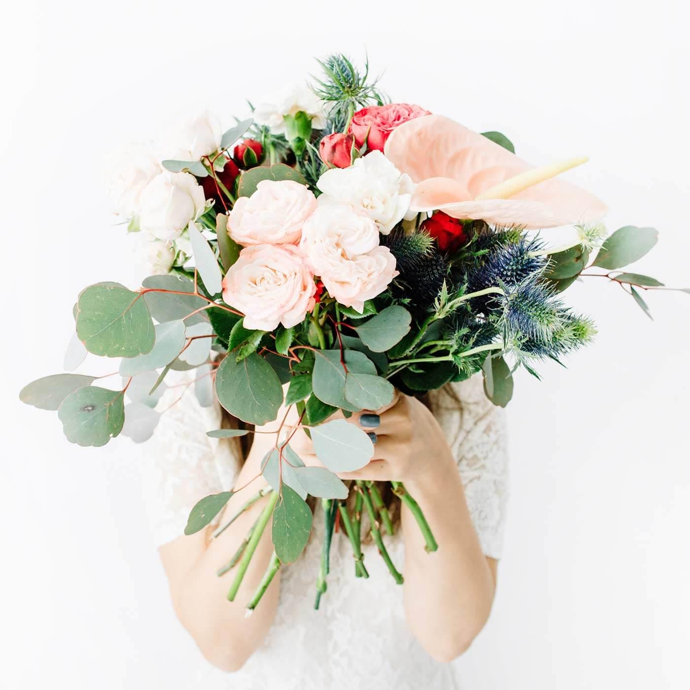 Brautstrauß Anthurium