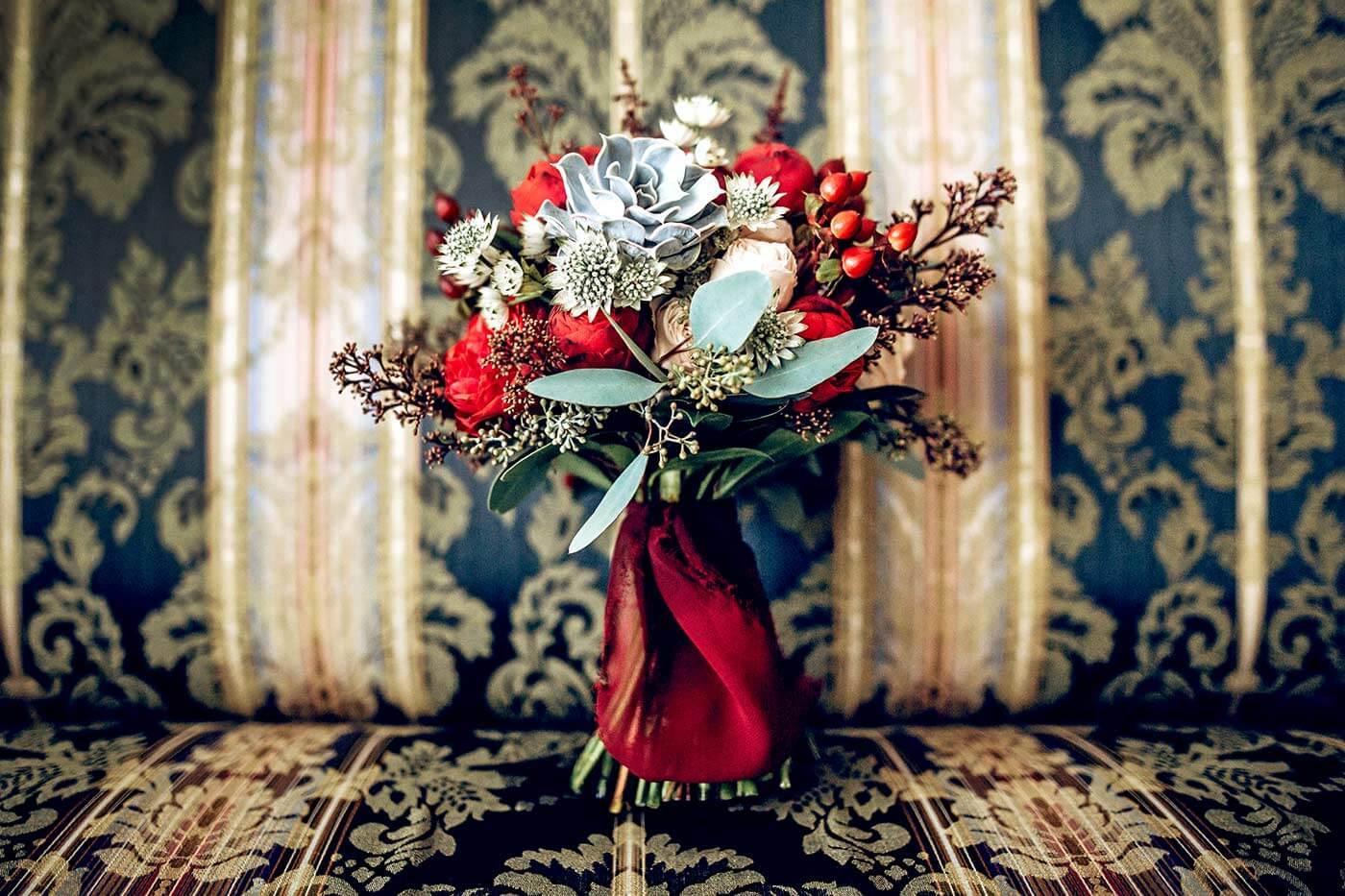 Brautstrauß Dezember