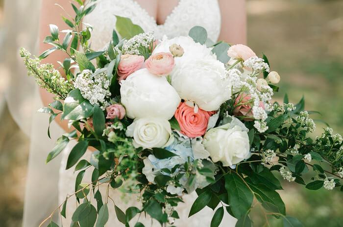 Brautstrauß Frühling