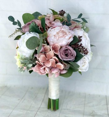 Brautstrauß Kunstblumen