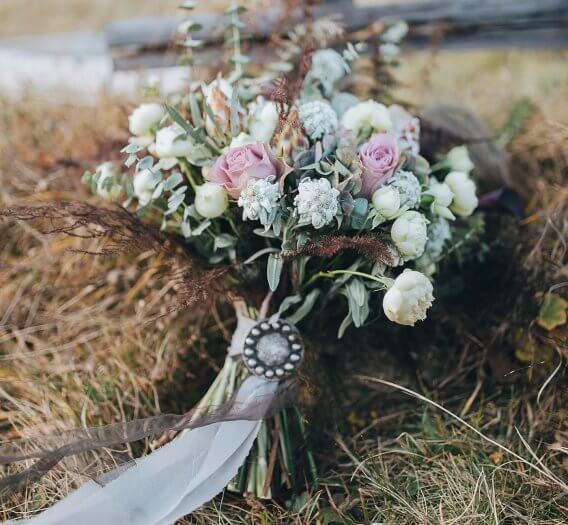 Brautstrauß Vintage Herbst