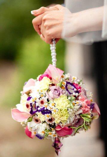 Brautstrauß extravagant