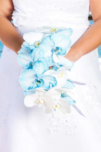 Brautstrauß filigran