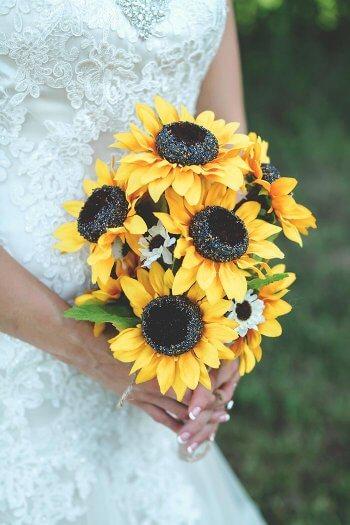 Brautstrauss Mit Sonnenblumen Viele Schone Inspirationen In Der