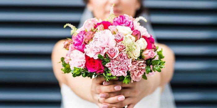 Brautstrauß rosa-pink