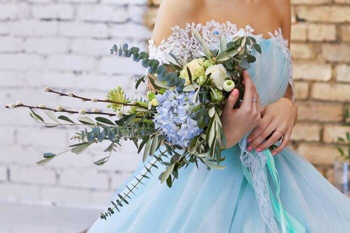 Brautstrauß standesamtliche Trauung