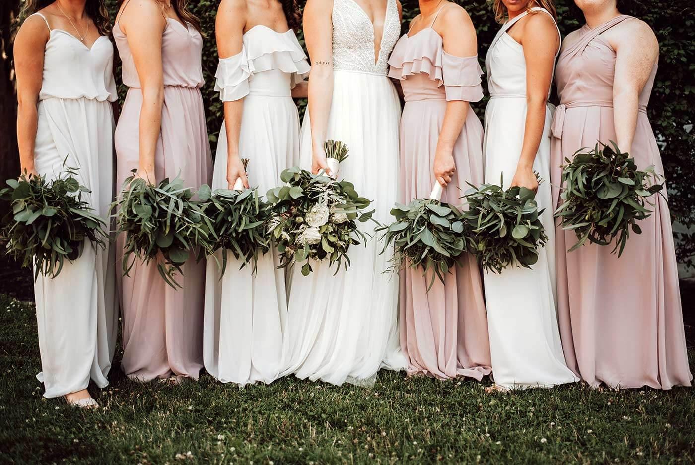 Greenery Brautstrauß