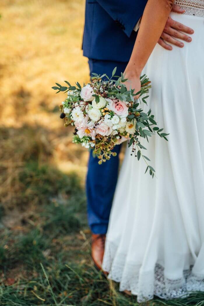 Hochzeitsstrauß Eukalyptus