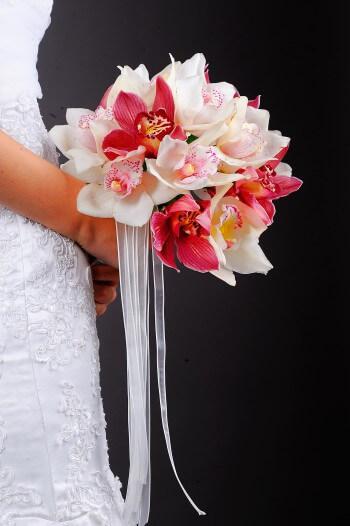 Hochzeitsstrauß Orchideen
