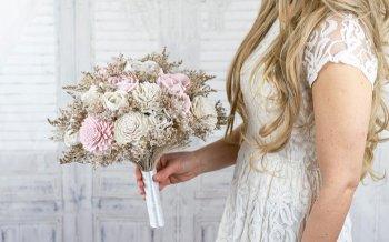 Künstlicher Brautstrauß