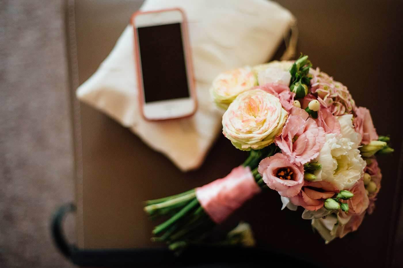 Ranunkel Brautstrauß