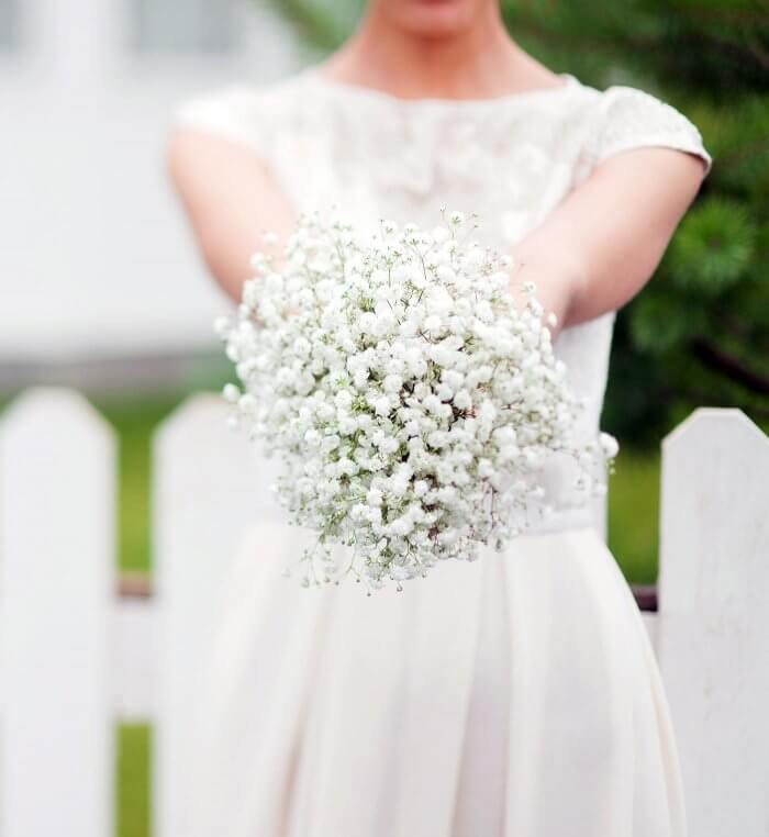 Schleierkraut Brautstrauß