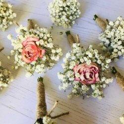 Ansteckblume Hochzeit