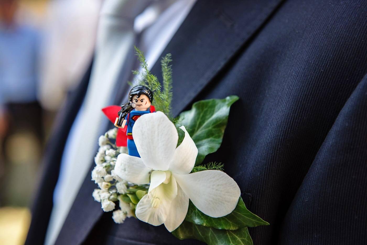 Hochzeitsanstecker ausgefallen