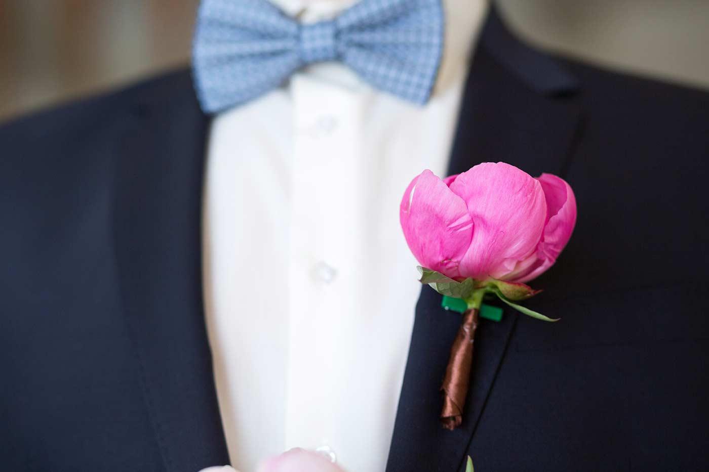 Hochzeitsanstecker selber machen