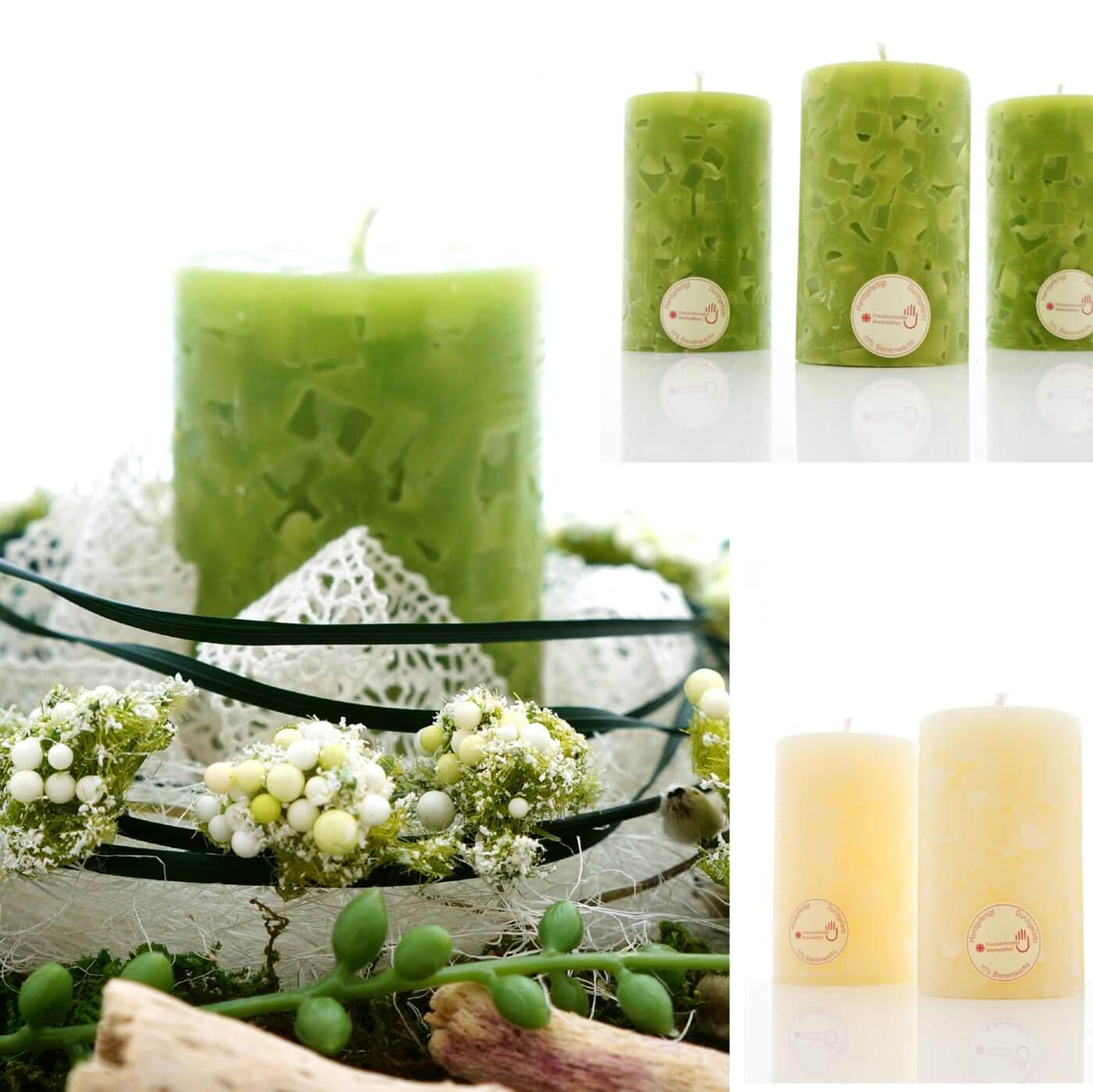 Dekoration mit kerzen hochzeitsportal24 for Kerzen dekoration