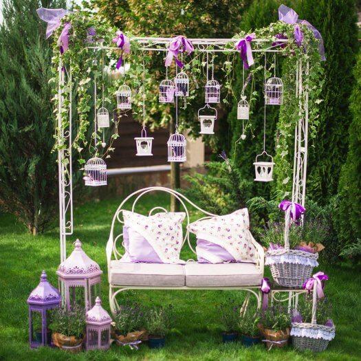 Gartendeko f r die hochzeit ganz viele beispiele in der bildergalerie - Gartenfeier deko ...