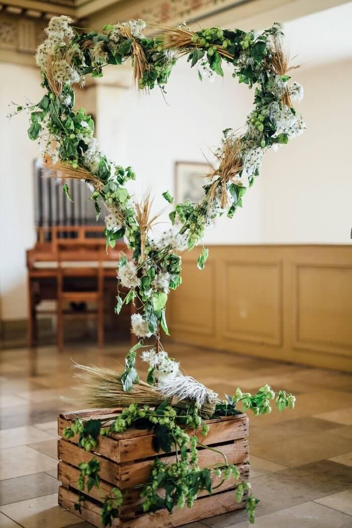 Hochzeit Deko Kirche