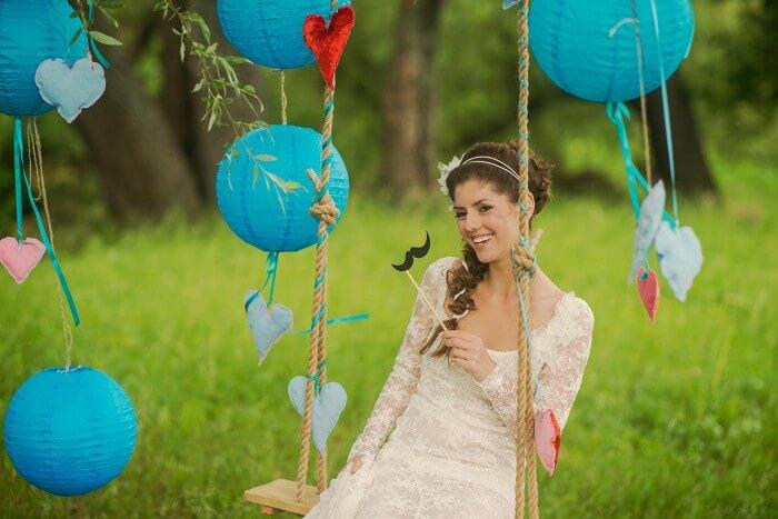 Hochzeitsdeko Lampions