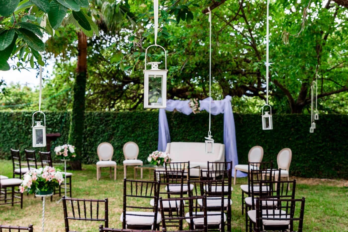 Hochzeitsdeko Laternen