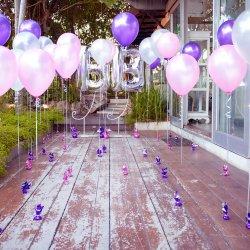 Hochzeitsdeko Luftballons