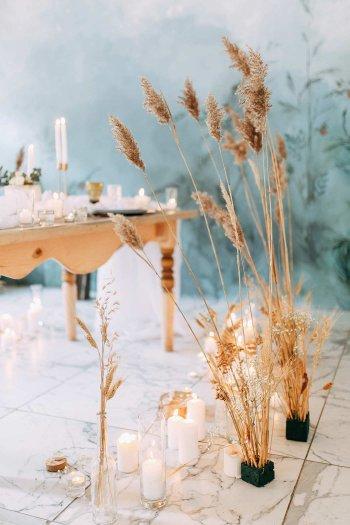 Hochzeitsdeko Pampasgras