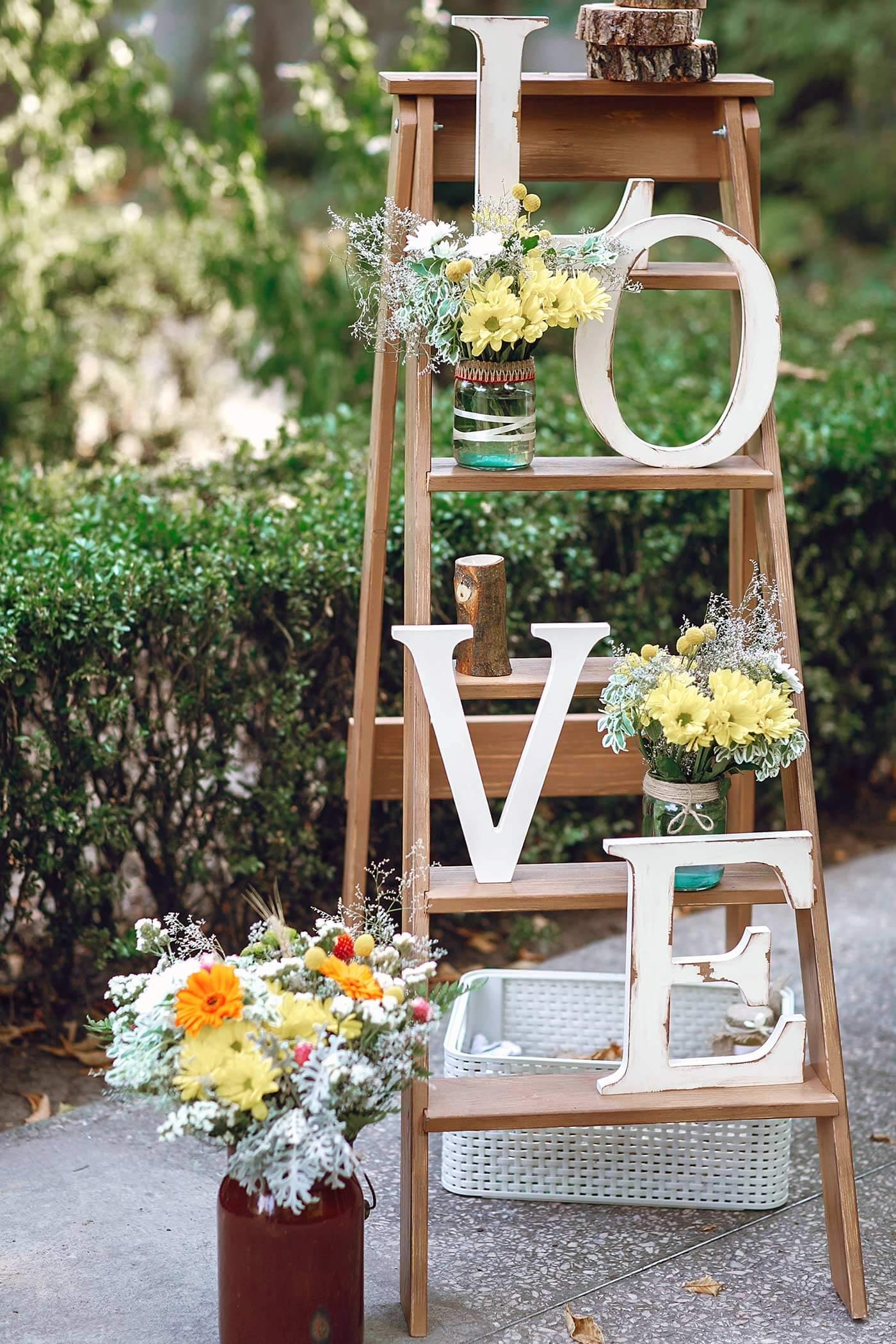 Hochzeitsdekoration Ideen