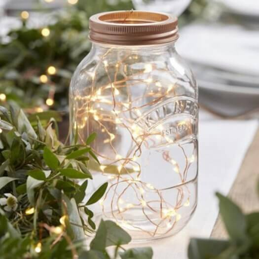 Lichterkette Deko Hochzeit I Hochzeitsdeko Ideen I Galerie