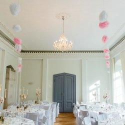 Pompoms Hochzeit