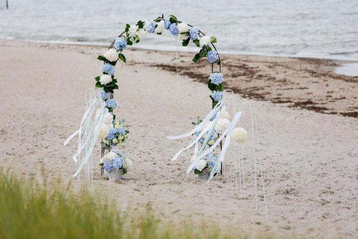 Torbogen Hochzeit