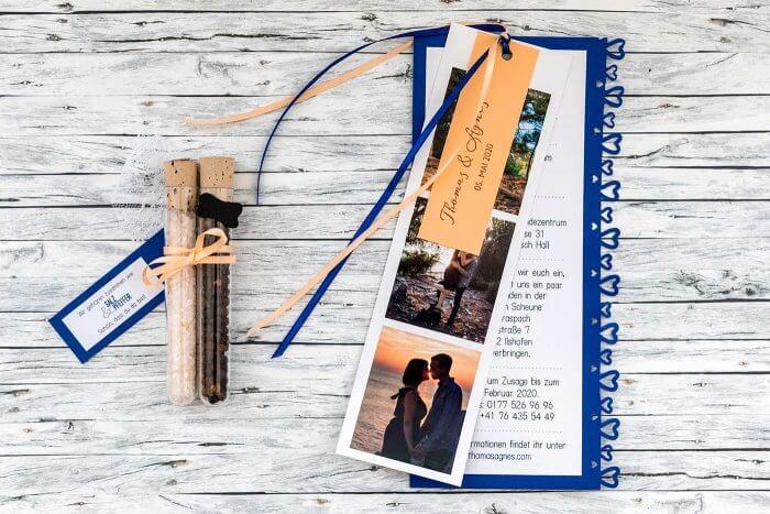 Einladungskarten zur Hochzeit selber machen