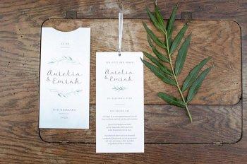 Einsteckkarten Hochzeit