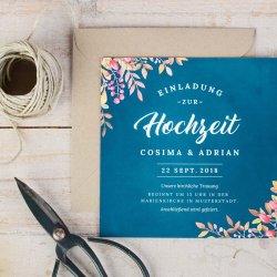Günstige Einladungskarten Hochzeit
