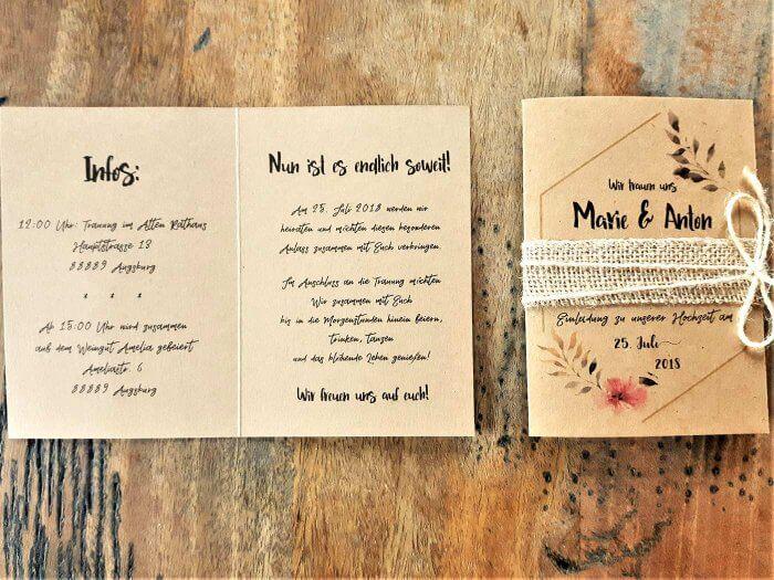 Hochzeit Einladung Text Bildergalerie Mit Beispielen Ideen