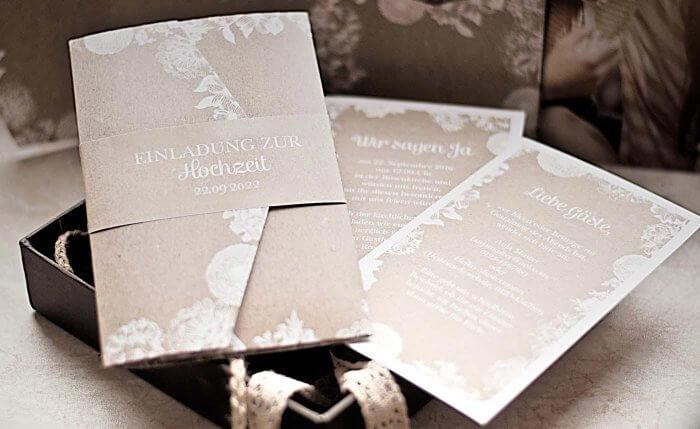 Hochzeitseinladungen Vintage Und Wunderschon Zauberhafte Ideen