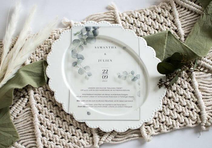 Hochzeitseinladung originell