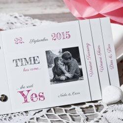 Hochzeitseinladungen Pink