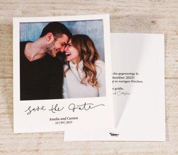 Hochzeitseinladungen Save the Date