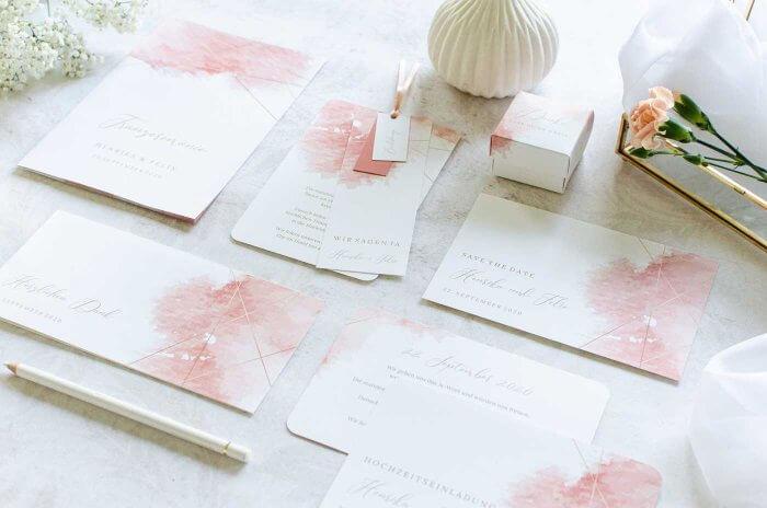 Hochzeitskarten Einladung