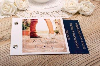 Hochzeitskarten mit Foto