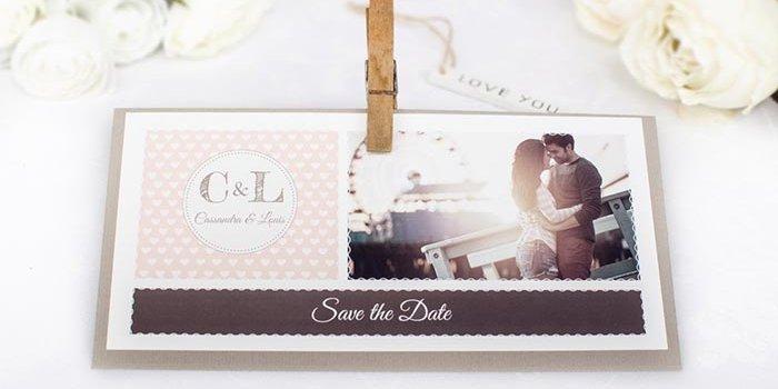 Save the Date Karten gestalten