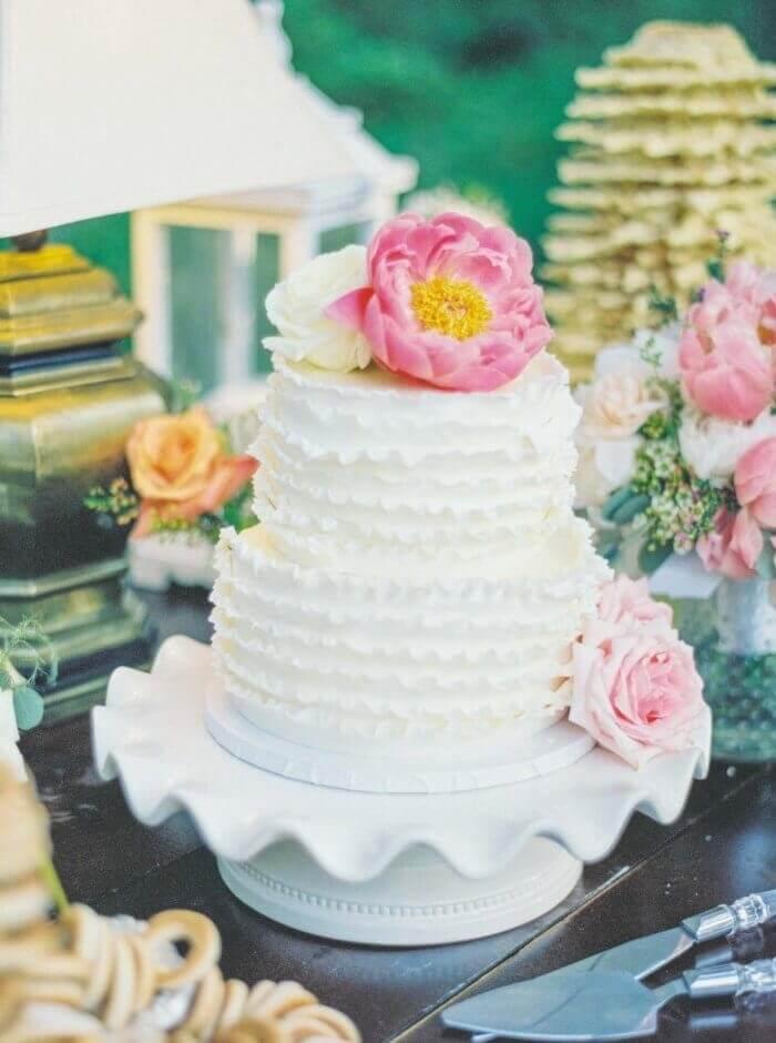 Boho Hochzeitstorte