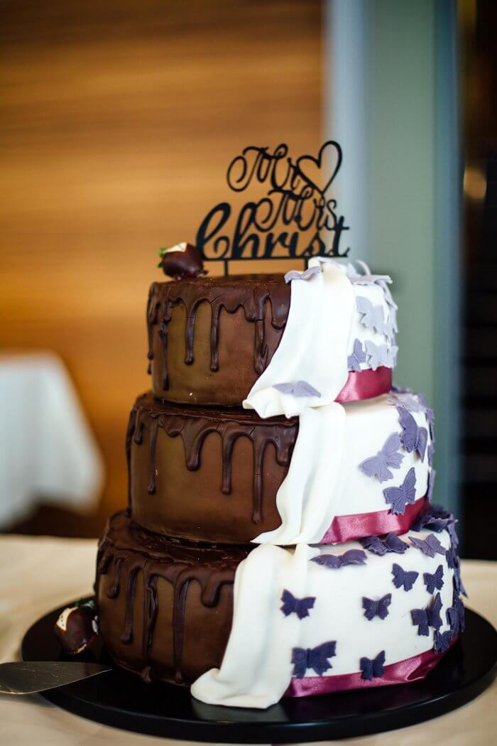 Besondere Braut Bräutigam Torte