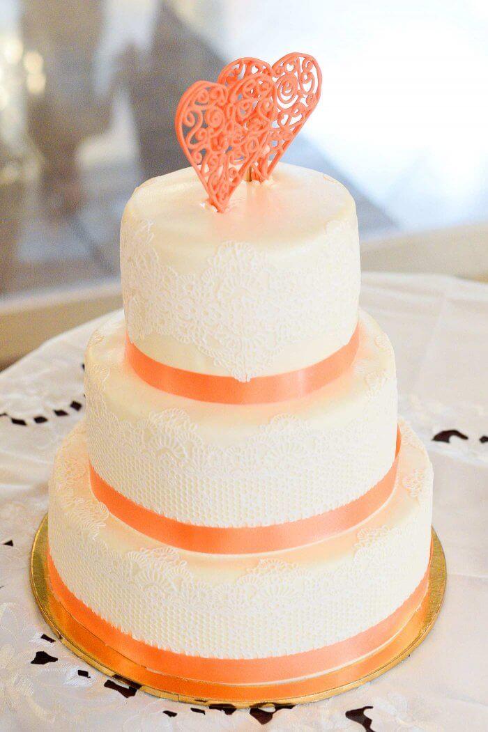 Cake Topper Herz