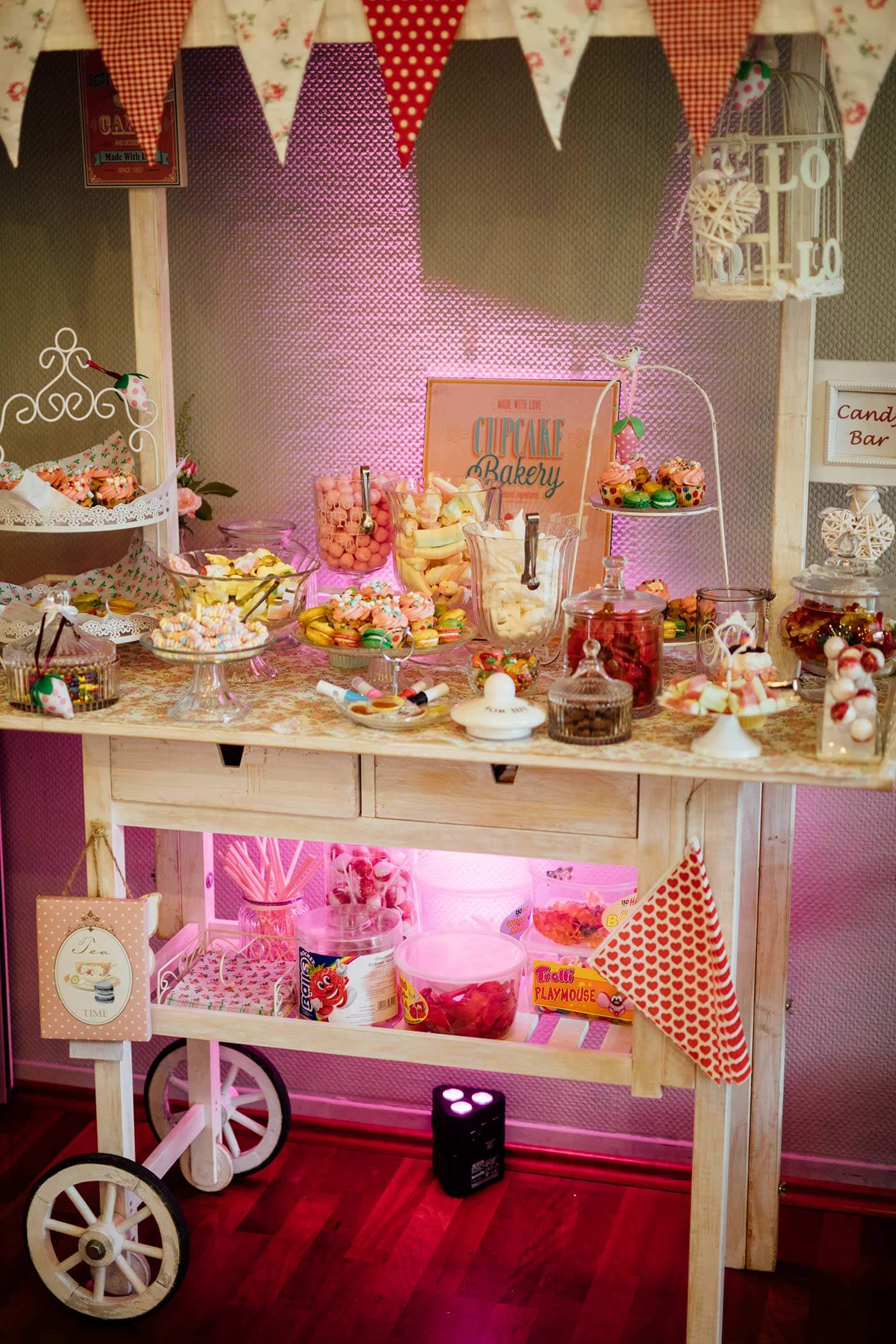 Candybar Wagen