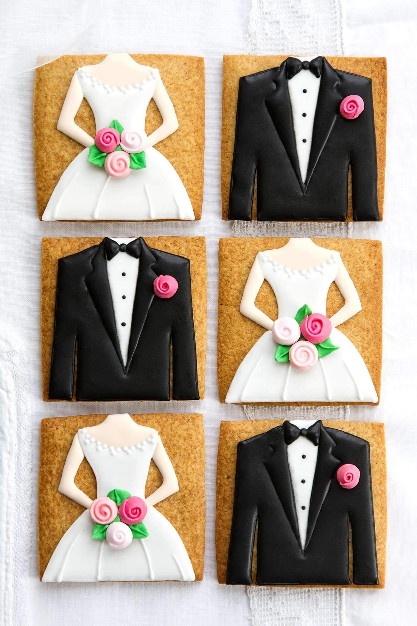 Hochzeit Kekse