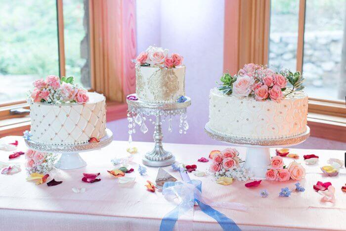 Hochzeit Kuchenbuffet