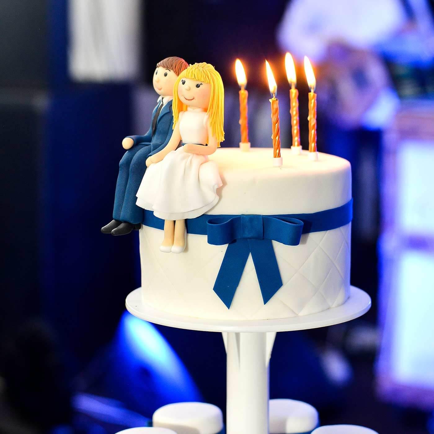 Hochzeitsfiguren Torte