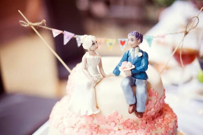 Hochzeitskuchen Figuren