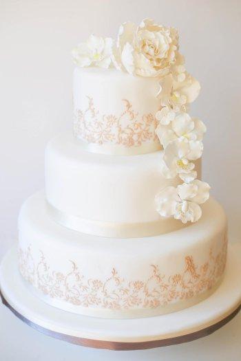 Hochzeitstorte zur Hochzeit